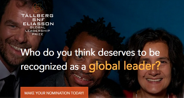 Nominations for Outstanding Leaders – Awards $25,000 & $50,000