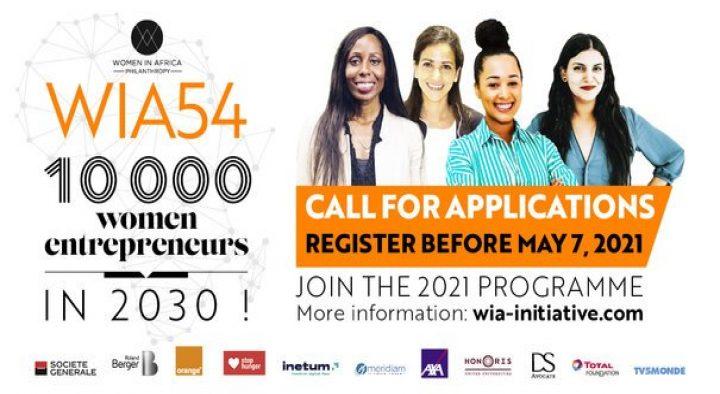 Women in Africa (WIA) 54 Project 2021 for African Women Entrepreneurs