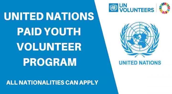 2,000 Vacancies: United Nations Volunteers Programme for all Nationalities