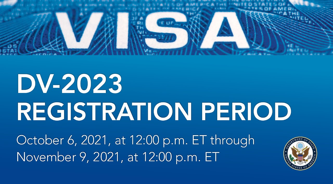 Registration Now Open: US Green Card – FY 2023 Diversity Visa Lottery to United States (Free Entry)